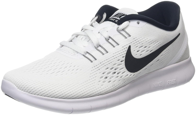 uk availability 7f2db 983b6 Amazon.com   Nike Free Run Women s Running Shoes - SU16-6.5 - White   Road  Running
