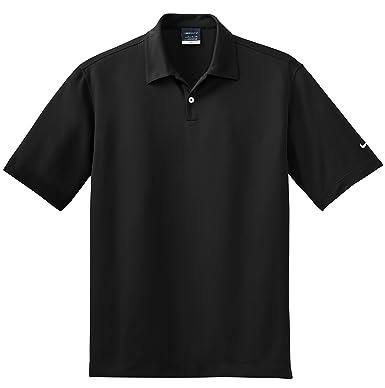 Nike Golf - Pebble Textura Dri-fit Polo, L, Negro: Amazon.es ...