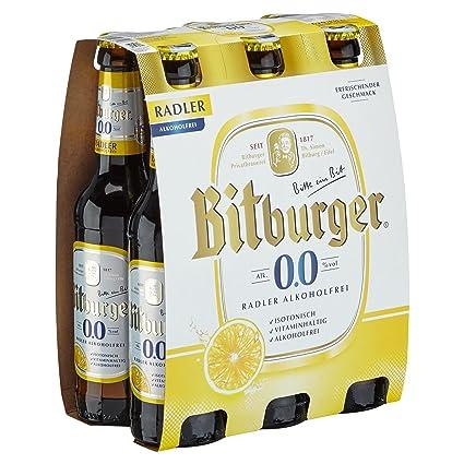 Bitburger 00 Radler Alkoholfrei Mehrweg 6 X 033 L