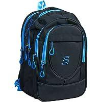 SARA 30 Liters Polyester Black School Bag