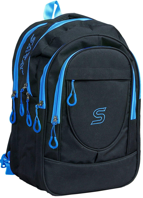 SARA Polyester 30 Ltr Black School Bag