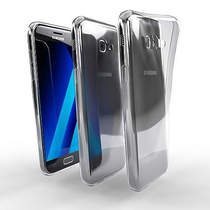 Savvies Funda para Samsung Galaxy A5 (2017) Carcasa Silicona ...