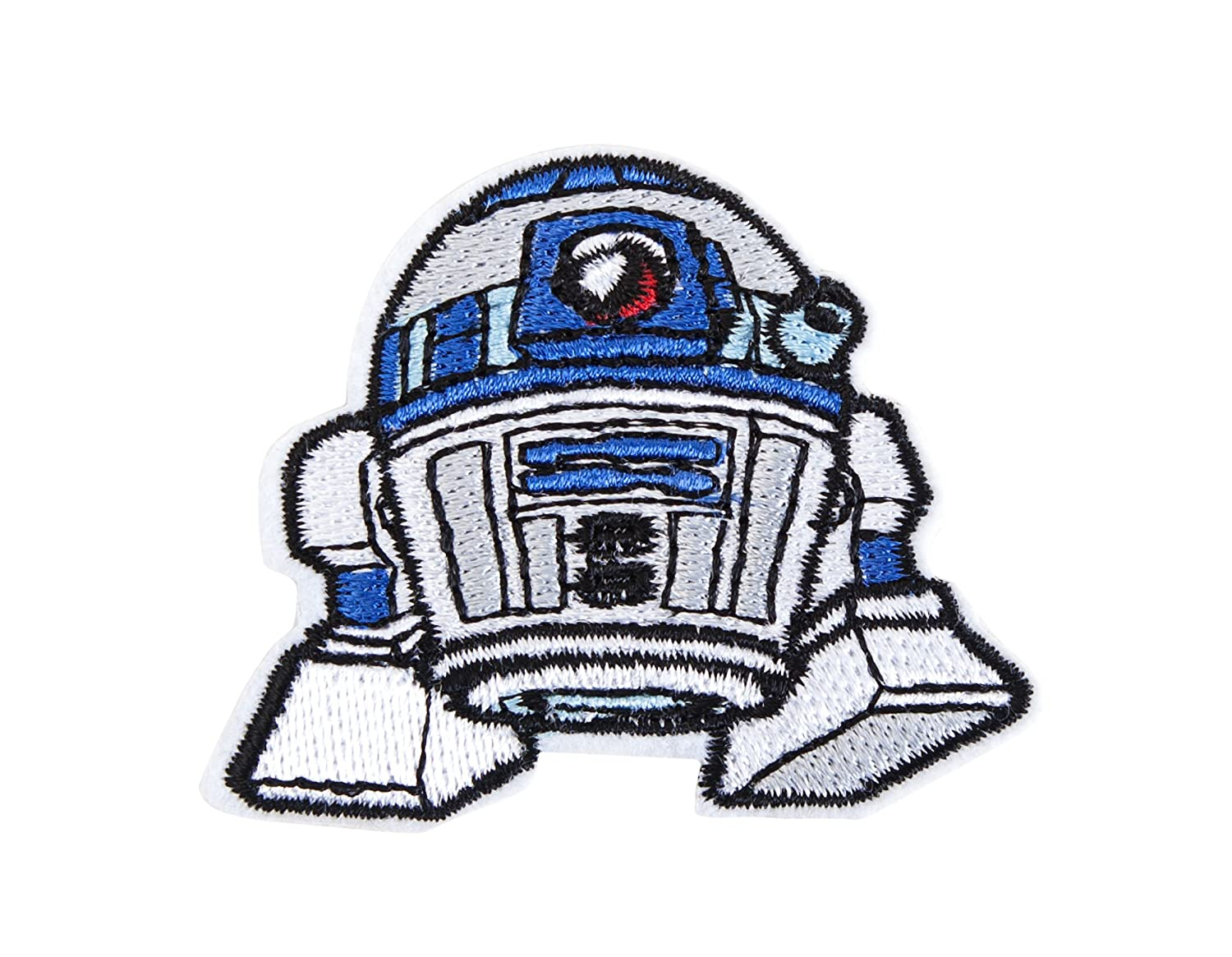 Star Wars R2-D2 Embroidered Iron On Patch Concept One ECSW7002AL