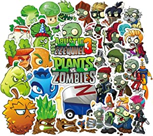 100pcs Plants Vs Zombies Game Stickers for Laptop Stickers Motorcycle Bicycle Skateboard Luggage Decal Graffiti Patches Waterproof Stickers