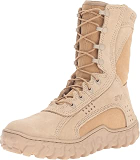 Amazon.com | Rocky Men's S2V Coyote Steel Toe Work Boot ...