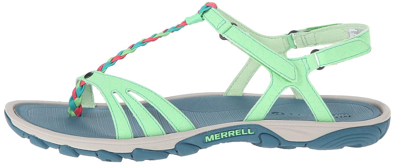 Merrell Enoki Twist Grün Damen Aqua Schuhe Grün Twist (Bright Grün) 8991f4