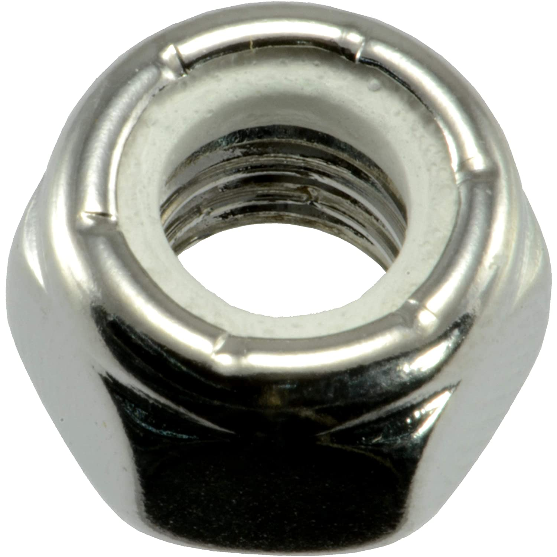 Piece-6 Midwest Fastener Corp Hard-to-Find Fastener 014973442200 Nylon Insert Lock Nuts 5//16-18