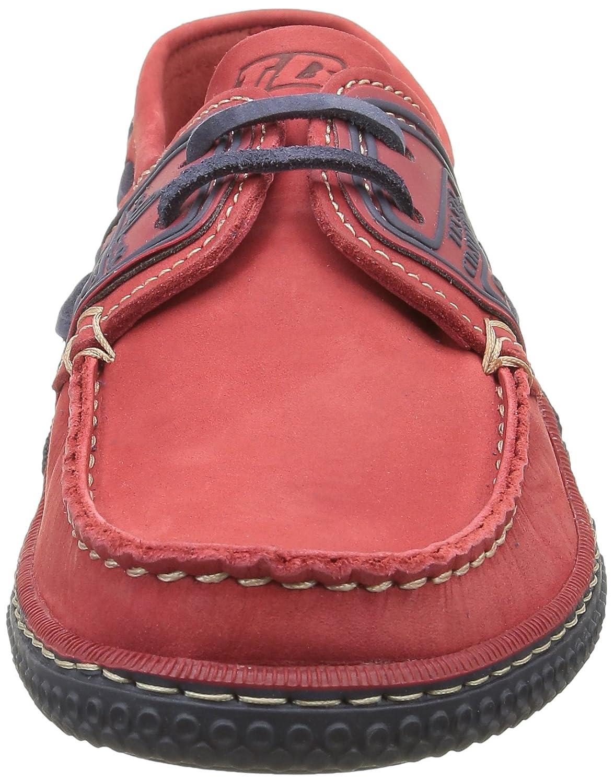 TBS - Globek - 19994 - Chaussures Bateau - Homme TBS Rouge (Rouge Encre)  6abe36f 20e5d953bd02