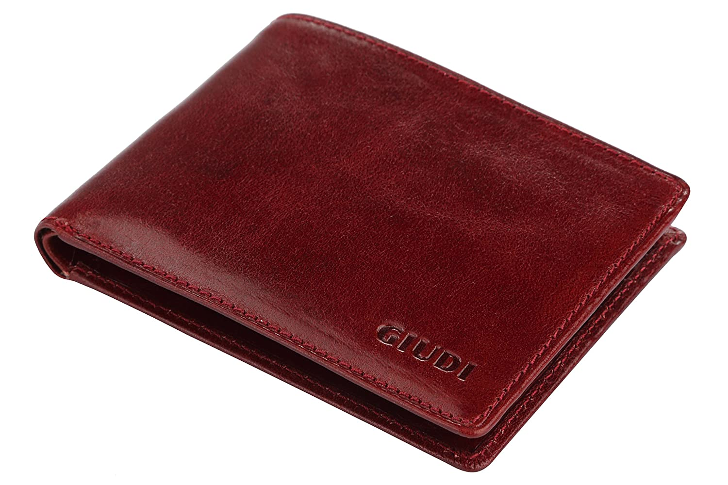 668e2a4f1ab8 Giudi Luxury Genuine Leather Bifold Men s Wallet 8 Card Holder Made in  Italy Expensive Slim and Comfortable