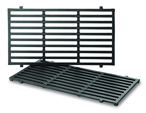 Weber 7637 Porcelain-Enameled Cooking Grates for Spirit 200 Series Gas  Grills (2 Grates/pack) (17 5 x 10 2 x 0 5)