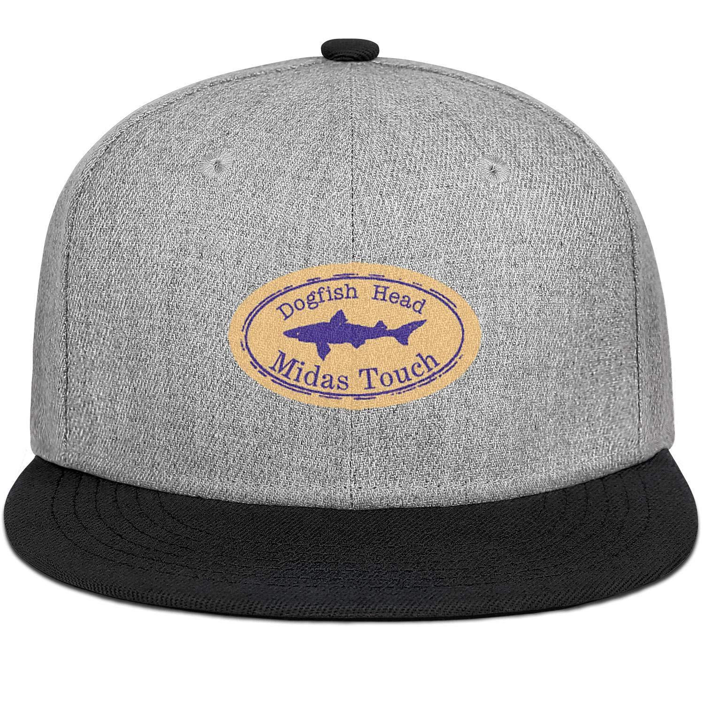 Dogfish Head Midas Touch Men Women Wool Trucker Cap Adjustable Snapback Sun Hat