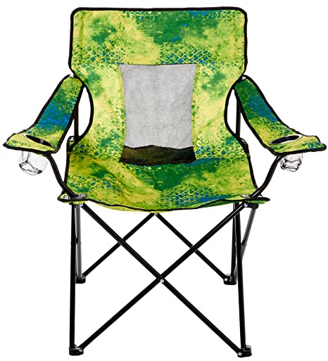 Reel Legends Cray Mahi Print Elite Chair One Size Blue Multi