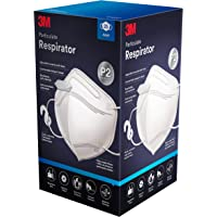 3M P2 Particulate Vertical Flat Fold Disposable Respirator 25 pack