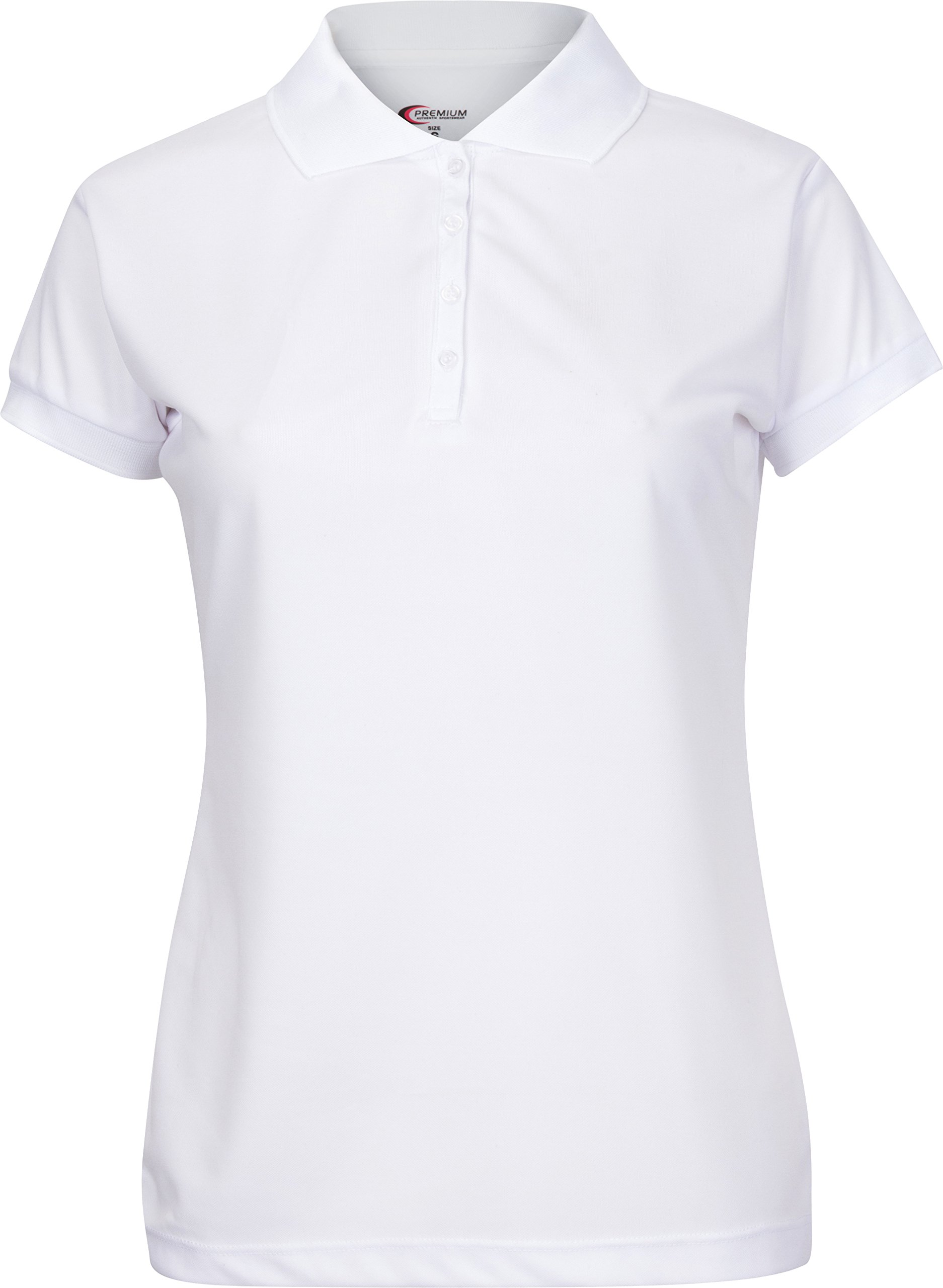 Premium Polo T-Shirt For Junior Girls – High-Performance Moisture Wicking Fabric