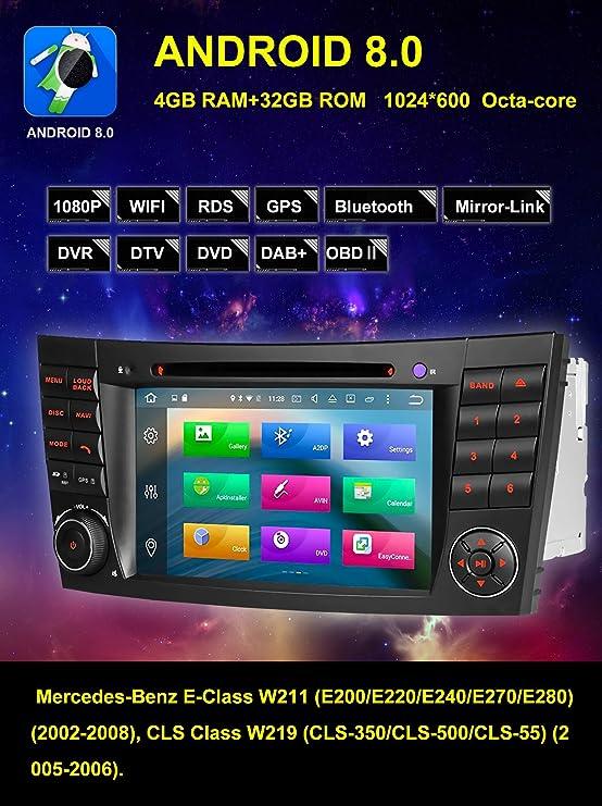 Amazon com: Freenavi for Benz E-Class W211 CLS W219 CLK W209