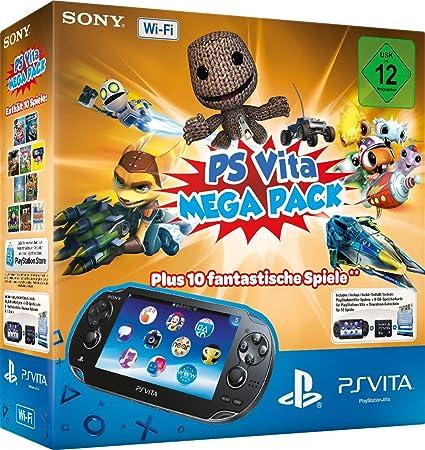 Sony PlayStation Vita Wi-Fi + Mega Pack - videoconsolas portátiles ...