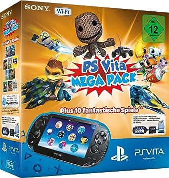 Playstation Vita Wi Fi Inkl Ps Vita Mega Pack 1 Amazonde Games