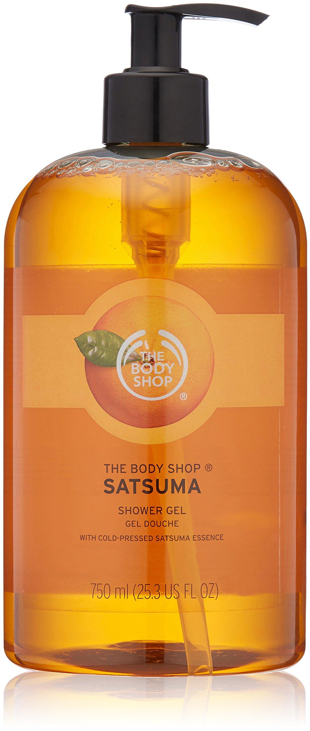 The Body Shop Satsuma Shower Gel, Paraben-Free Body Wash, Mega-Size, 25.3 Fl. Oz.