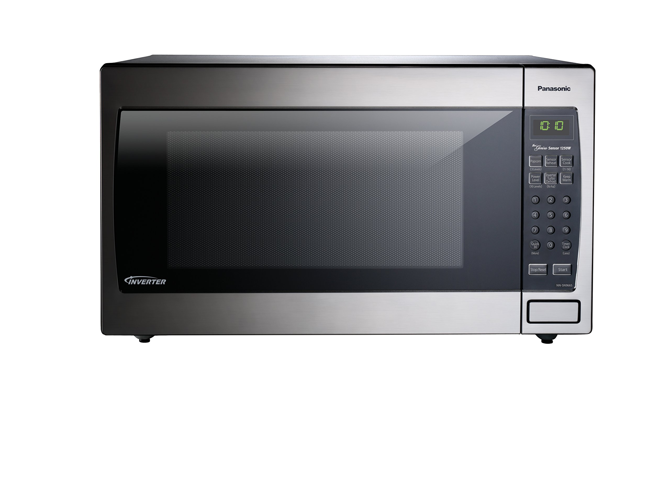 Panasonic NN-SN966S Countertop/Built-In Microwave with Inverter Technology, 2.2  cu. ft. , Stainless by Panasonic