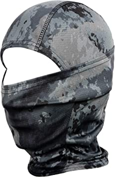 Amazon.com: Pasamontañas JIUSY de camuflaje, de ninja ...