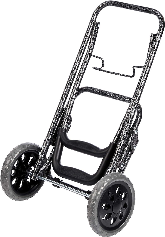 40/litres Basics Chariot de courses /à 2 roulettes fleurs noires