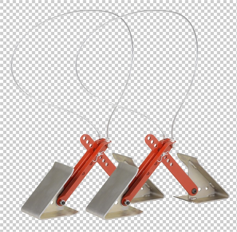 Equal-i-zer 84004840 Wheel Chock, (Pack of 2) 84-00-4840