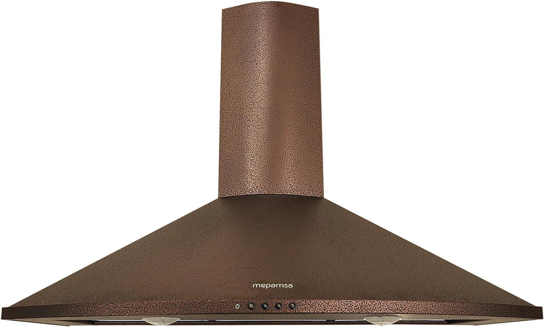 Mepamsa Tender H 70 V2 - Campana aspirante decorativa de pared, color cobre: 220.44: Amazon.es: Grandes electrodomésticos