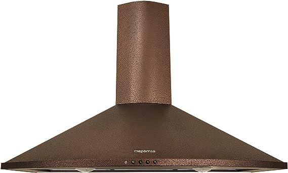 Mepamsa Tender H 90 V2 - Campana aspirante decorativa de pared, color cobre: 226.73: Amazon.es: Grandes electrodomésticos