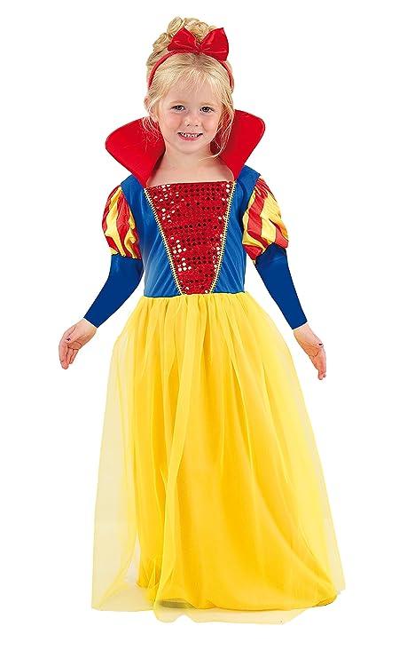 Fiori Paolo Biancaneve Costume Bambina f68e32889a4