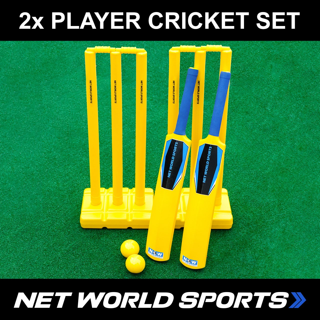 amazon com complete cricket set for the backyard kids u0026 teens