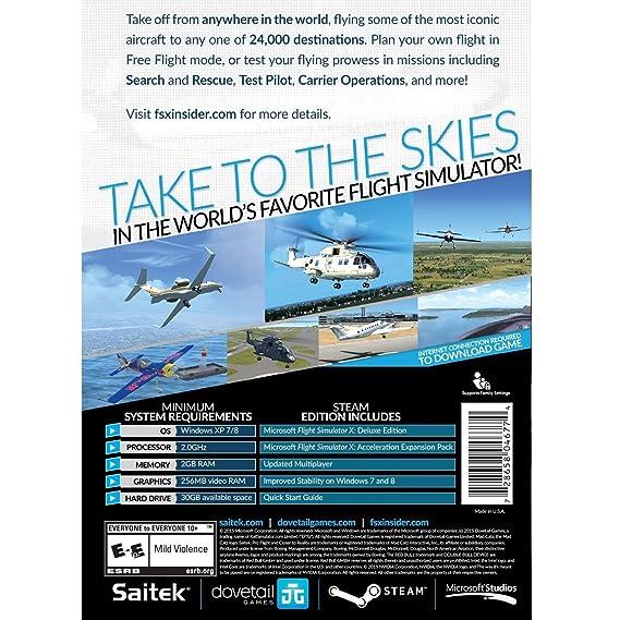 Buy Microsoft Flight Simulator X: Steam Edition for PC