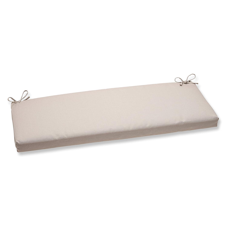 Pillow Perfect Solar Linen Bench Cushion,