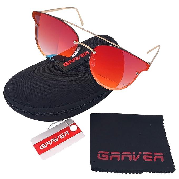 Graver Gafas De Sol De Moda Marca Metal Para Hombre Mujer Lentes Polarizado De Espejo Con
