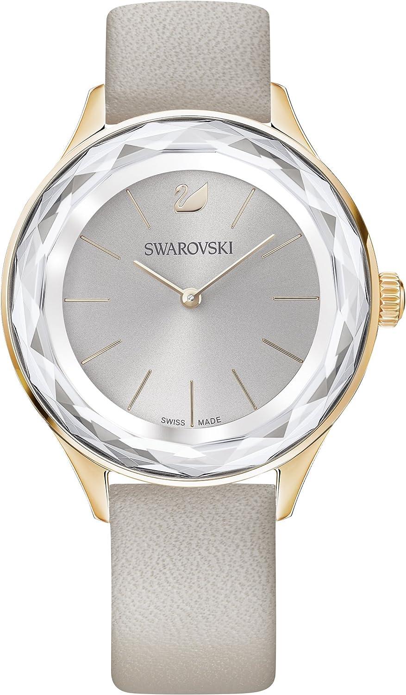 Swarovski reloj Octea Nova, baño de PVD en tono oro rosa, para mujer