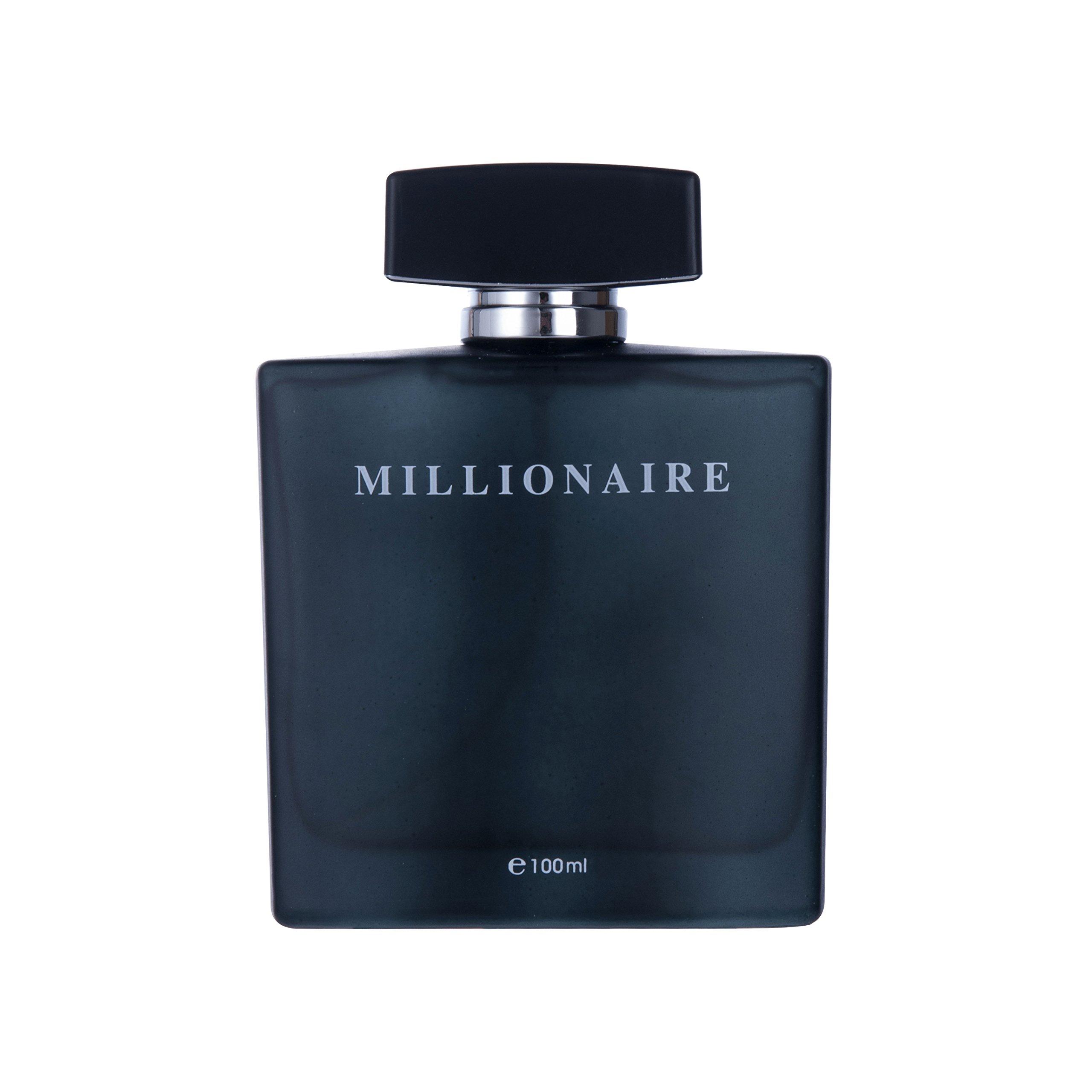 Perfume&Beauty Perfume Eau de Parfume for Men, 3.4 oz Spray Parfume for Men 100 ML- Black Millionaire