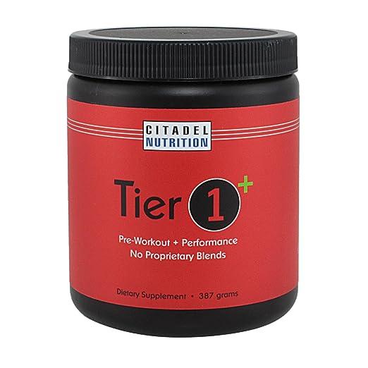 Tier 1 Plus Preworkout / Performance Supplement (387g)