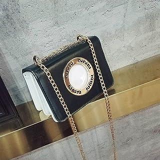 anneau En Métal anneau Petit Carré Mode Épaule Épaule Diagonale Croix Petit Sac Carré