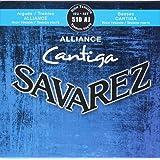 Savarez 656227 Corde per Chitarra Classica Alliance Cantiga Set 510Aj Alta Tensione, Blu