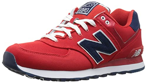 New Balance 574 Pique Polo Pack, Zapatillas para Mujer, Rojo (Red), 36 EU: Amazon.es: Zapatos y complementos