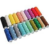 Threadart 20 Colors of Perle Cotton Set A - 75yds - Size 8