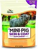 Manna Pro Mini Pig Skin & Coat Supplement, 1 lb