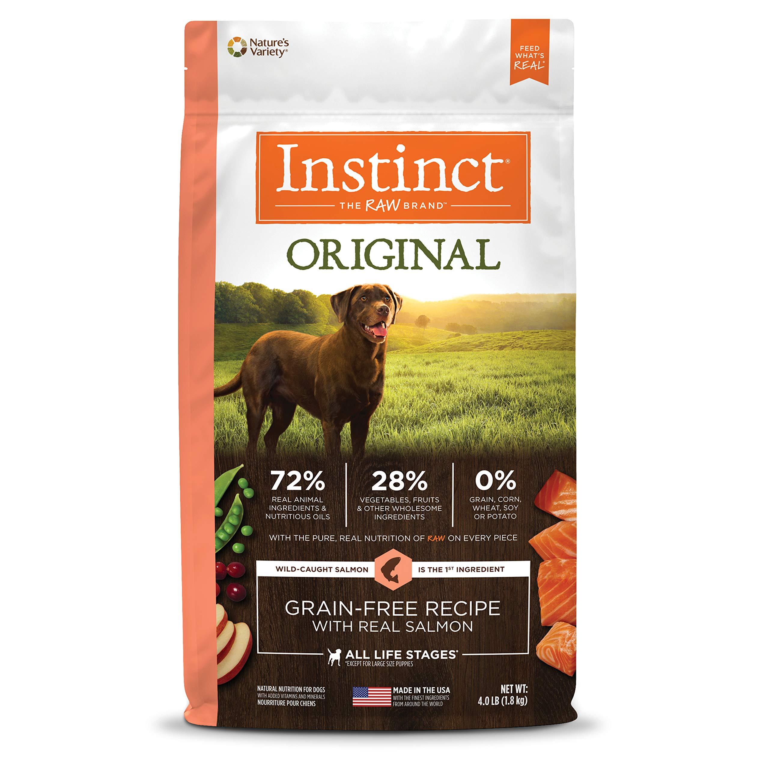Instinct Original Grain Free Recipe Natural Dry Dog Food by Nature's Variety