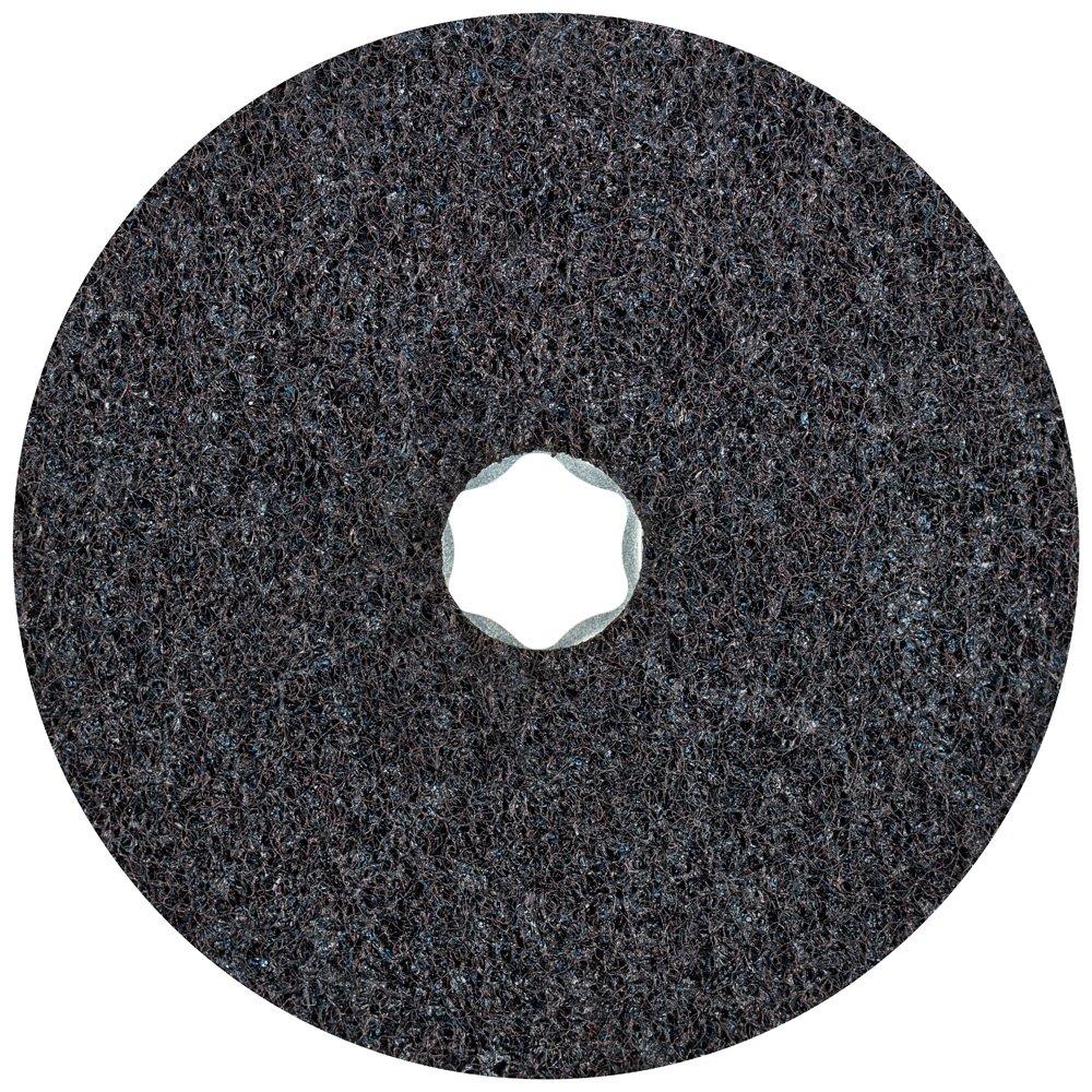 PFERD 48113 Combiclick Non-Woven Disc, Hard Type, 5'' Diameter, 9,650 RPM, Very Fine Grit (Pack of 10)