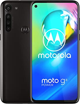 Motorola Moto G8 Power | 4/64GB | Unlocked International - GSM only | No CDMA | No US Warranty | Black