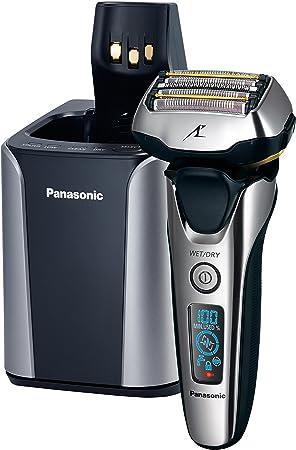 Panasonic ES-LV9N Máquina de afeitar de láminas Recortadora Negro, Plata - Afeitadora (Máquina de afeitar de láminas, Negro, Plata, Metal, LED, Batería, Ión de litio ...