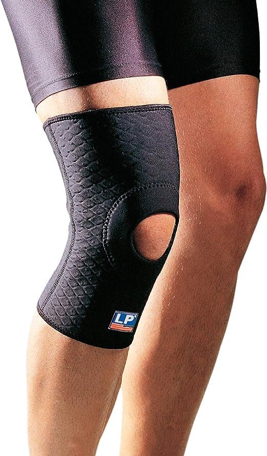 LP Support 708CA Kniebandage mit Patellaöffnung Knieschutz