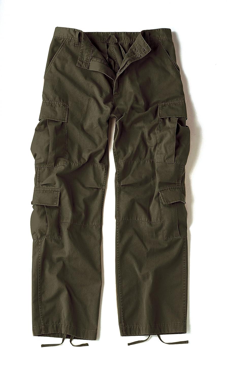 Shorts Paratrooper washed noir
