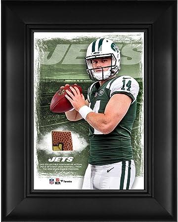 "5a92da4734b Sam Darnold New York Jets Framed 5"" x 7"" Player Collage with a  Piece"