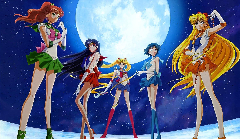 138 Sailor Moon Crystal PLAYMAT CUSTOM PLAY MAT ANIME PLAYMAT FREE SHIPPING