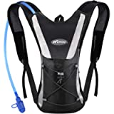 KUYOU Hydration Pack with 2L Hydration Bladder Water Rucksack Backpack Bladder Bag Cycling Bicycle Bike/Hiking Climbing…